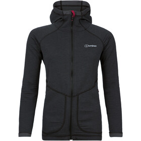 Berghaus Redonda Hooded Fleece Jacket Women Black/Carbon